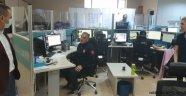 Vali Aktaş; Nevşehir'de Kamu Görevlilerini, Çalıştıkları Yerde Ziyaret Etti.