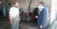 Kaymakam Kavanoz, Sanayi Sitesinde Esnafları Ziyaret Etti.