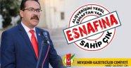 Başkan Ekici'den yerel esnafa destek kampanyası