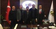 NUDER' den Uçhisar Belediye Başkanı Osman Süslü' ye Ziyaret