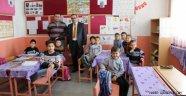 İlçe Milli Eğitim Müdürü CEYLAN'dan Köy Okullarına Ziyaret.