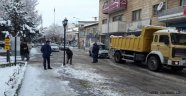 Avanos'ta Tuzlama ve Kar Temizleme Çalışmaları yapıldı.