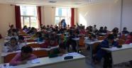 Nevşehir Simya Koleji bursluluk sınavı yaptı