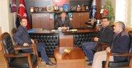 Acıgöl Esnaf ve Sanatkarlar Odası Başkanı Özcan'dan Başkan Ertaş'a Ziyaret.