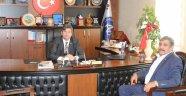 Acıgöl Şoförler ve Otomobilciler Odası Başkanı Adıgüzel'den Başkan Ertaş'a Ziyaret