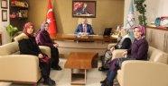 AK Parti Kadın Kolları Yönetim Kurulundan, İl Milli Eğitim Müdürü DEMİR'e Ziyaret