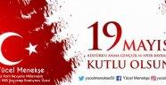 Ak Parti Nevşehir Milletvekili Menekşe'den Gençlik ve Spor Bayramı Kutlama Mesajı