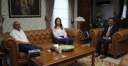 Azerbaycan Milletvekili Paşayeva, Vali Aktaş'ı Ziyaret Etti