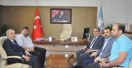 Birlik Başkanı Ördü'den, İl Milli Eğitim Müdürü Demir'e ziyaret.