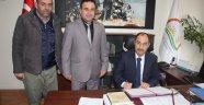 Damızlık Sığır Yetiştiricileri Birliği Arasında Küpeleme Sözleşmesi Yenilendi