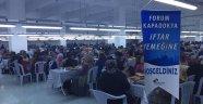 Forum Kapadokya, Nevşehir Belediyesi'nin İftar Çadırına Ev Sahipliği Yaptı