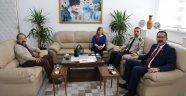 Gazeteciler Cemiyeti´nden Jandarma Komutanına ziyaret