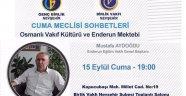 """Genç Birlik Nevşehir tarafından gerçekleştirilen """"Cuma Meclisi Sohbetleri"""" devam ediyor."""