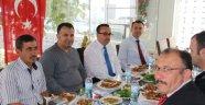 Gülşehir İlçe milli eğitim şube müdürü Fatih TEPESU'ya veda yemeği