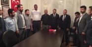 Gülşehir Ülkü Ocakları'nda bayrak değişimi