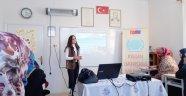 Kadın Danışma Merkezi, Eğitim Çalışmalarını Sürdürüyor.