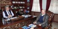 Kapadokya Bedensel Engelliler ve Özürlüler Derneği Başkanı Yurtseven Başkan Ünver'i Ziyaret Etti.