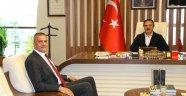 Kapadokya Üniversitesi Rektörü Karasar'dan NEVÜ Rektörü Bağlı'ya Ziyaret