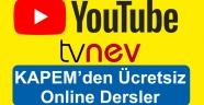 KAPEM Çeşitli Branşlarda Ücretsiz Online Eğitim Veriyor