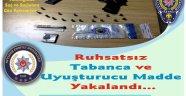 Kozaklı İlçesi'nde Ruhsatsız Silah ve Uyuşturucu Madde Yakalandı