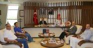 Muğla Sıtkı Koçman Üniversitesi Rektörü HARMANDAR'dan Rektör BAĞLI'ya Ziyaret