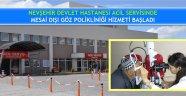 Nevşehir Devlet Hastanesi Acil Servisinde Mesai Dışı Göz Polikliniği Hizmeti Başladı