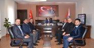 Nevşehir Dünya Erdemli Sanayici ve İş Adamları Derneği'nden Kalayoğlu'na ziyaret.