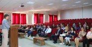 Nevşehir Hacı Bektaş Veli Üniversitesi Japon Dilinde İlk Ders Prof. Dr. Tekmen'den
