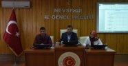 Nevşehir İl Genel Meclis 2017 Yılı Şubat Ayı Toplantısı Sona Erdi.