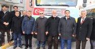 Nevşehir İl Milli Eğitim Müdürlüğü bünyesinde Halep' e 135 ton un Gönderildi.