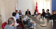 Nevşehir İl Sağlık Müdürlüğünde basın toplantısı düzenlendi.