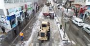 Nevşehir Merkezde Kar Temizliği Sona Erdi.