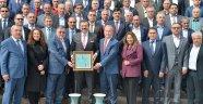 NEVŞEHİR TSO'DAN M. RiFAT HİSARCIKLIOĞLU'NA ZİYARET