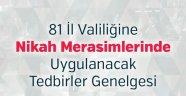 Nevşehir Valiliğinden Koronavirüs Tedbirleri/ Nikâh Merasimlerinde Uygulanacak Tedbirler Hakkında Açıklama