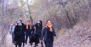 """Nevşehir'de """"Kadına Şiddete"""" Karşı Vadi Yürüyüşü Düzenlendi"""