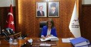 Nevşehir'in İlk Kadın Valisi İnci Sezer Becel Görevine Başladı