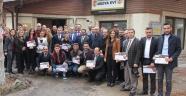 Nevşehirli Gazetecilerin Katıldığı Kent muhabirliği eğitimi sona erdi