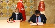 """NEVÜ ile İl Milli Eğitim Müdürlüğü Arasında """"Eğitimde İş Birliği Protokolü"""" İmzalandı"""