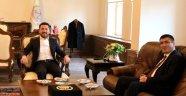 NEVÜ Rektörü Aktekin'den Nevşehir Belediye Başkanı Rasim Arı'ya Ziyaret