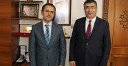 NEVÜ Rektörü Aktekin'den Nevşehir Valisi Aktaş'a Ziyaret