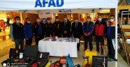 """Nissara ve Kapadokya Forum AVM'de """"Afet Bilgilendirme"""" standı açıldı."""