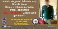Öğrenci Kıyafeti Giyerek Dolandırıcılık Yapan Şahıs Yakalandı.