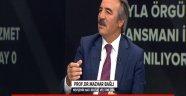 """Rektör Bağlı, A Haber'de """"Memleket Meselesi""""ne Konuk Oldu"""