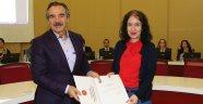 Rektör Bağlı'dan Akademik Yükseliş Gösteren Öğretim Üyelerine Tebrik