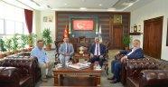 Rektör Bağlı'dan Rektör Karakaya'ya Hayırlı Olsun Ziyareti