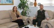 Rektör Kılıç'dan, Nevşehir İl Jandarma Komutanı Cavlak'a Hayırlı Olsun Ziyareti