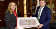 Rektör Kılıç'tan, Kahramanmaraş Büyükşehir Belediye Başkanı Erkoç'a Ziyaret