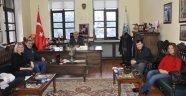 Sinema Sanatçılarından Belediye Başkanı Yıldız'a Ziyaret