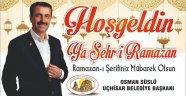 Uçhisar Belediyesi Ramazan Ayı boyunca iftar yemeği verecek
