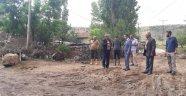Vali Aktaş, Sel Felaketi Yaşayan Köylerde İnceleme Yaptı